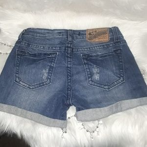 Vigoss Distressed Demin Jean Shorts